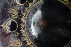 Gong at a Buddhist temple Royalty Free Stock Photography