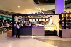 Gong Cha de Singapour photographie stock libre de droits