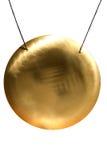Gong dello strumento fotografia stock libera da diritti