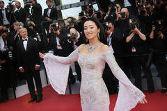 Gong Li attends the `Cafe Society` Stock Image
