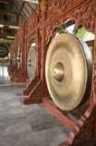 Gong music instrument oriental Asian loud concept Stock Photo