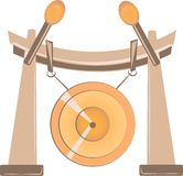 Gong Royalty Free Stock Photo