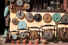 Gong shop Stock Images