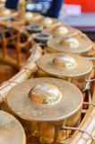 Gong,Thai musical instrument. Royalty Free Stock Photography