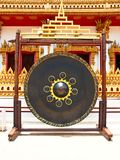 Gong in thai temple Stock Photography