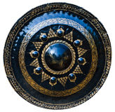 Gong on white background Royalty Free Stock Images