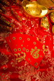 Gong xi fa cai , traditional chinese new year items Royalty Free Stock Photo
