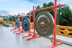 Gonge in wat thai royalty free stock images