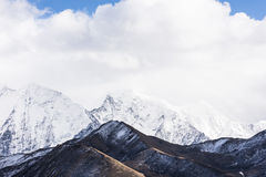 Gongga snow mountain Royalty Free Stock Photography