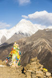 Gongga snow mountain stock photos