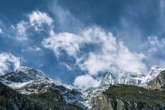 Gongga snow mountain Stock Images