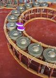 Gongo Fotografía de archivo libre de regalías