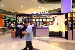 Gongo Cha de Singapura fotos de stock