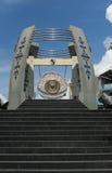 Gongo de la paz de mundo, Ambon, Indonesia imagenes de archivo