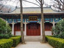 Gongo de Taiqing o templo de la pureza suprema en Lao de la montaña fotos de archivo libres de regalías