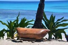 Gongo del Fijian Imagen de archivo