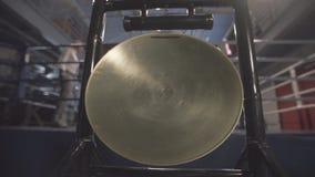 Gongo dourado nativo video estoque
