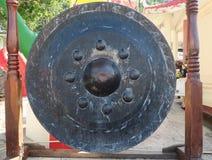 Gongo en un templo, Tailandia Imagenes de archivo