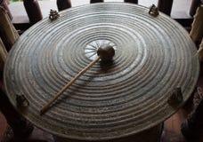 Gongo tailandês antigo foto de stock