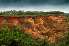 Gongoni, grand canyon of west bengal, India Stock Photography