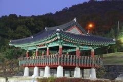 gongwon历史公园uamsajeok 库存照片
