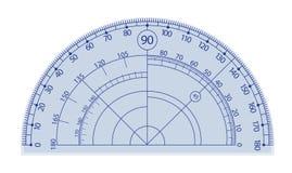 Goniometro illustrazione vettoriale
