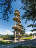 Gonjace tower in Gorica hills Royalty Free Stock Photography