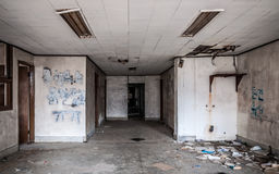Gonjiam Psychiatric Hospital. The interior of Gonjiam Psychiatric Hospital in South Korea. The building was abandoned nearly twenty years ago, but never Royalty Free Stock Image
