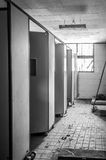 Gonjiam Psychiatric Hospital. The interior of Gonjiam Psychiatric Hospital in South Korea. The building was abandoned nearly twenty years ago, but never Stock Images