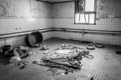 Gonjiam Psychiatric Hospital. The interior of Gonjiam Psychiatric Hospital in South Korea. The building was abandoned nearly twenty years ago, but never Stock Photo