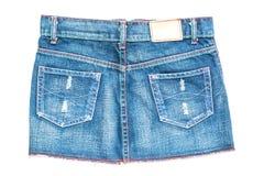 Gonna dei jeans Fotografia Stock Libera da Diritti