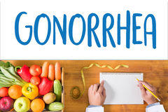 GONORRHEA test for gonorrhea , Gonorrhea - diagnosis , Drugs for Stock Photos