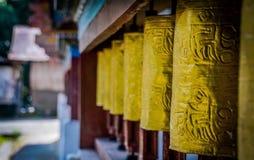 Gonpa van kloostersanchen Dorjee stock afbeelding