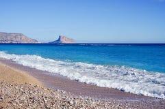 Gont plaża zdjęcie royalty free