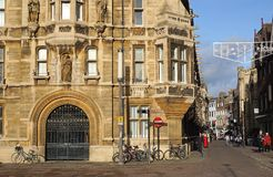 Gonville I Caius szkoła wyższa, Cambridge, Anglia Obrazy Royalty Free