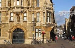 Gonville och Caius högskola, Cambridge, England Royaltyfria Bilder