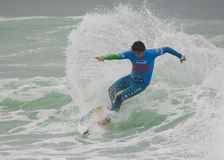 Gony Zubizarreta (ESP) in ASP World Qualifier Royalty Free Stock Photography