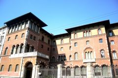 Gonzaga palace, Milan stock photos