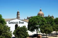 Gonzales Byass Bodega, Jerez de la Frontera Image stock