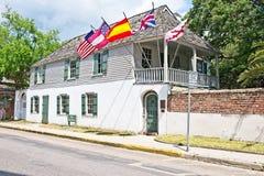 Gonzalez Alvarez House em St Augustine histórico, Florida Imagem de Stock