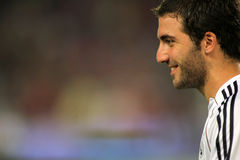 Gonzalo Higuain of Real Madrid Royalty Free Stock Photography