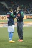 Gonzalo Higuain Young Boys Berne v FC Naples Liga Europa Royalty Free Stock Images