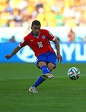 Gonzalo Jara Coupe du Monde 2014 Royalty Free Stock Photos