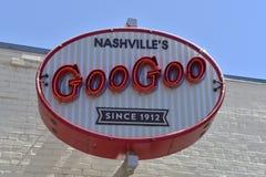 Goo Goo Clusters Since 1912, Nashville, Tennessee lizenzfreie stockfotos