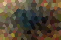 Good abstract illustration of brown, red and blue Middle size hexagon. Useful background for your work. Good abstract illustration of brown, red and blue Middle stock illustration