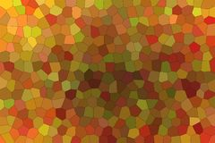 Good abstract illustration of brown and red bright Little hexagon. Useful background for your work. Good abstract illustration of brown and red bright Little vector illustration