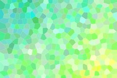 Good abstract illustration of pink, green, yellow and lapis lazuli bright Small hexagon. Good background for your needs. Good abstract illustration of pink vector illustration