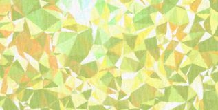 Good abstract illustration of yellow, green and pink Realistic Impasto paint. Good background for your needs. Good abstract illustration of yellow, green and royalty free stock photography