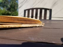 A Good Afternoon Read. Ing session royalty free stock photo