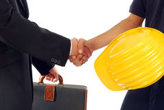 A good agreement Royalty Free Stock Image